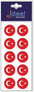 Resim Türk Bayrağı - Damla Etiket
